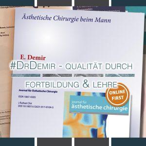 fortbildung & lehre | Schönheitschirurg in Köln | Dr. Erhan Demir