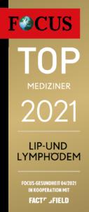 Siegel - Dr- Demir, Top-Mediziner 2021 auf der Focus Gesundheit Artzsuche
